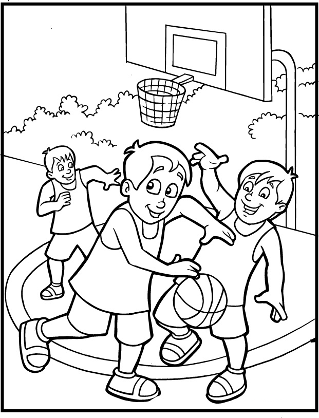 Sports Coloring Pages Free Printable Download | Coloring Pages Hub