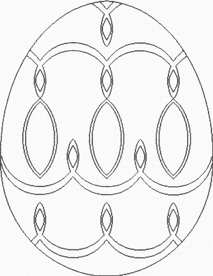 Egg Coloring Pages | ColoringMates.