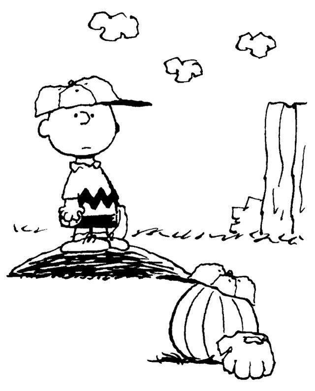 charlie brown halloween coloring pages coloring home