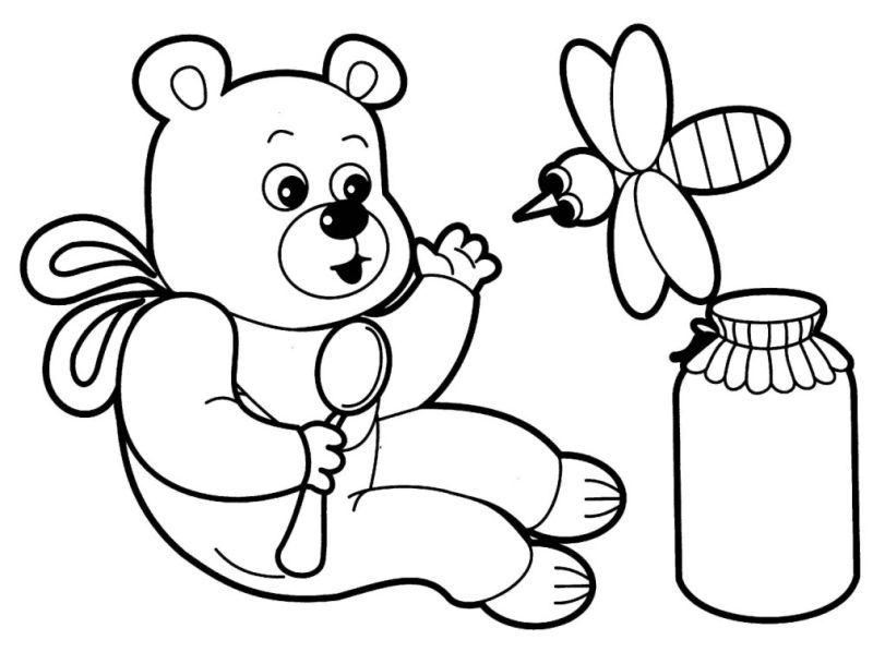 Kids Coloring Pages Animals | Free coloring pages for kids