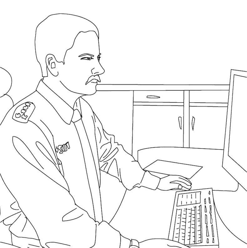 Coloring Page Computer