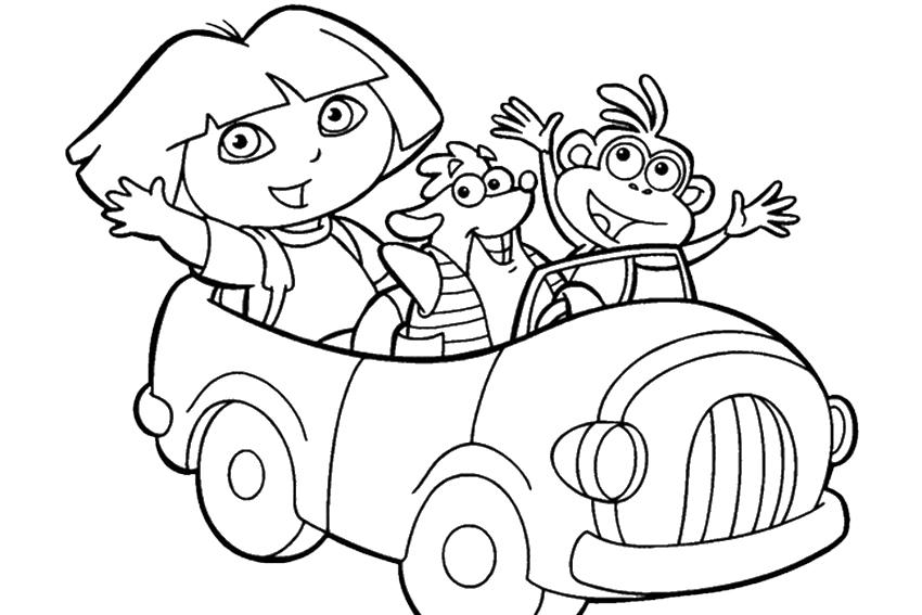swiper the fox coloring pages - photo#24