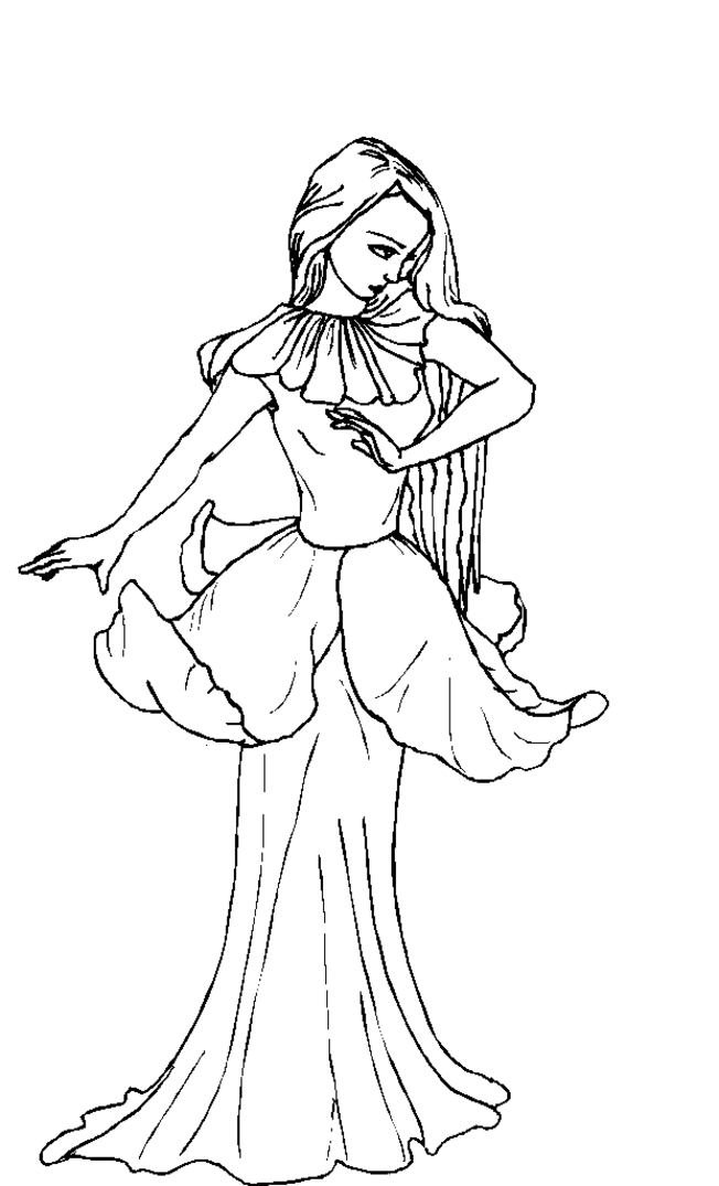 realalistic fantasy coloring pages - photo#5