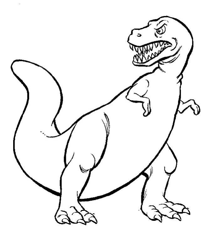dinosaur tooth coloring pages - photo#4