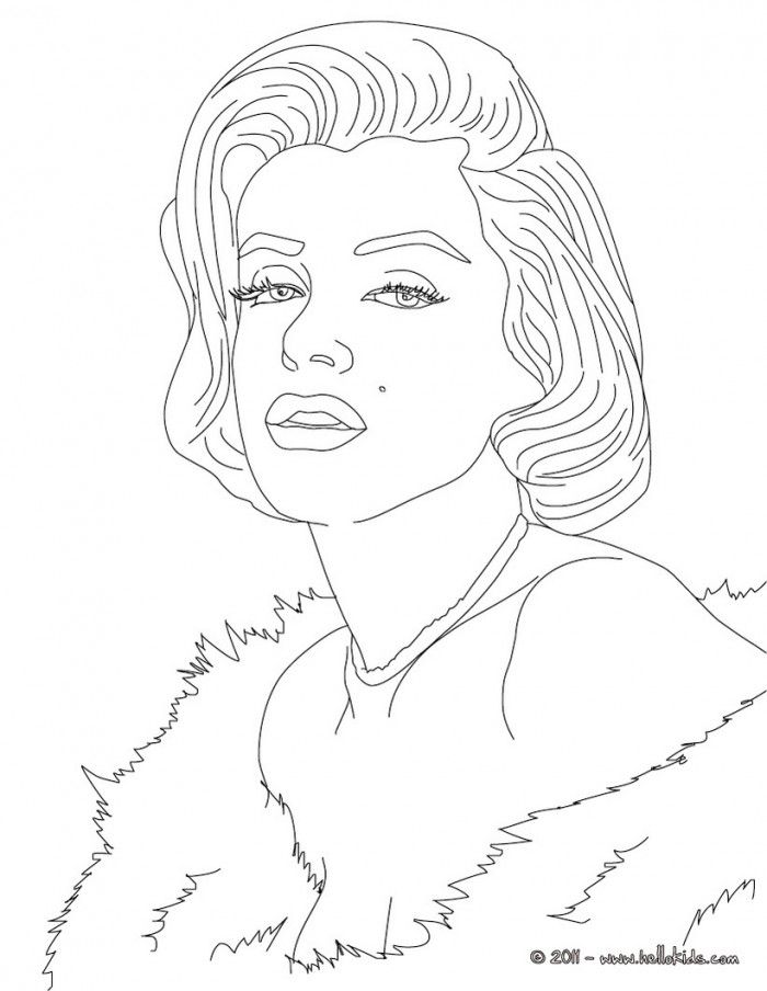 Celebrity Coloring Pages To Print - Coloring Home