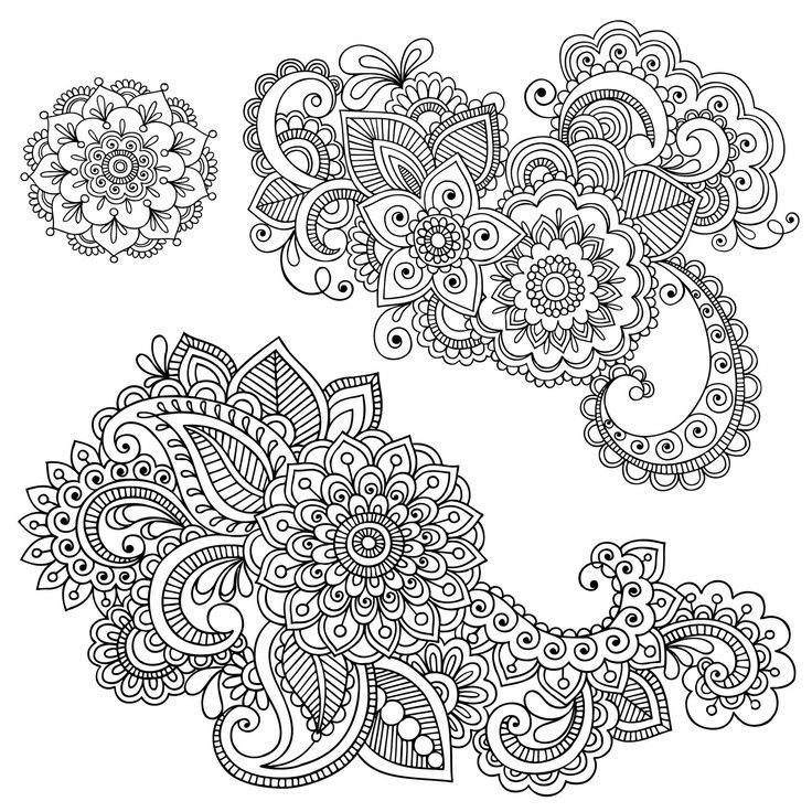 kids coloring pages intricate designs - photo#11