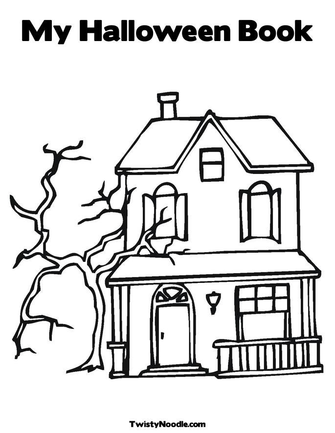 haunted castle coloring pages - haunted castle colouring pages coloring home