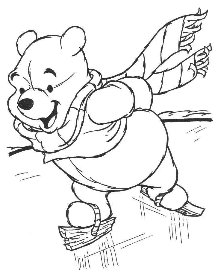 Disney Coloring Pages Of Winnie The Pooh