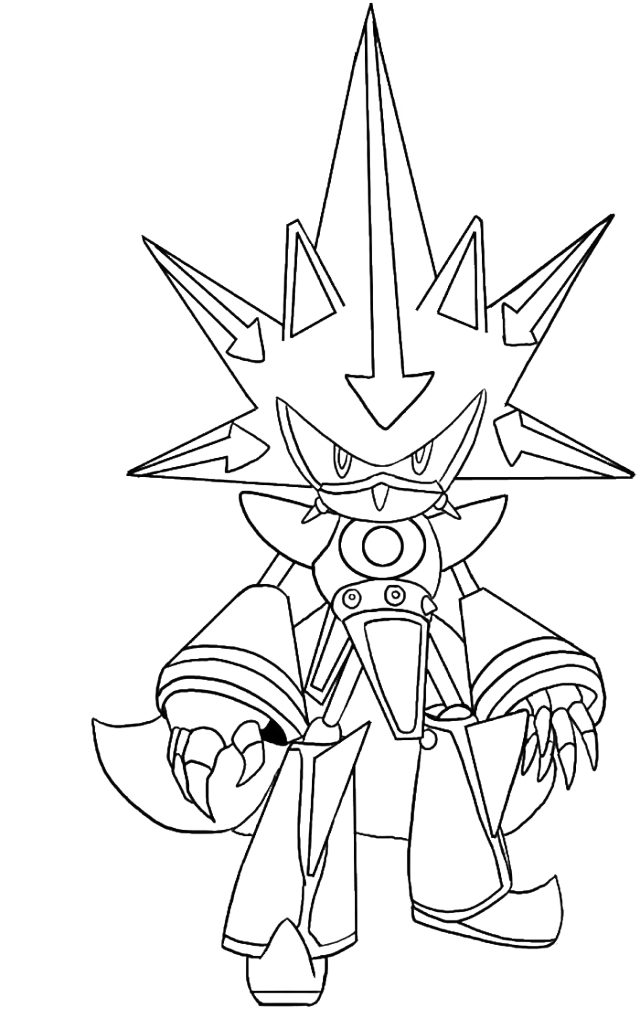 Sonic X Coloring Pages Coloring Home