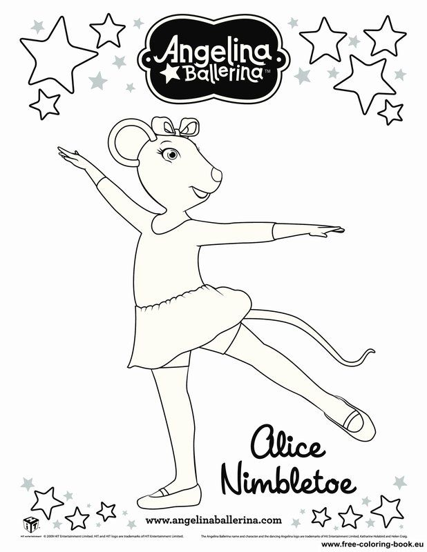 Ballerina Coloring Page | Free coloring pages