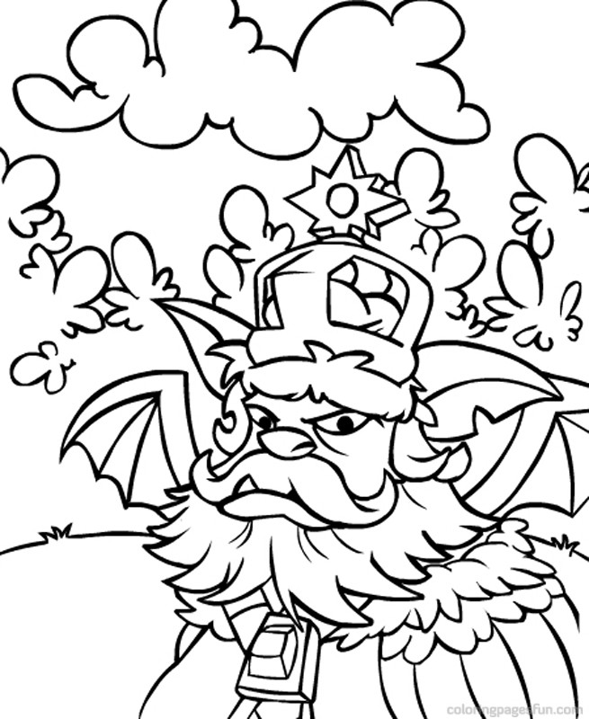 neopets coloring pages printable - photo#32