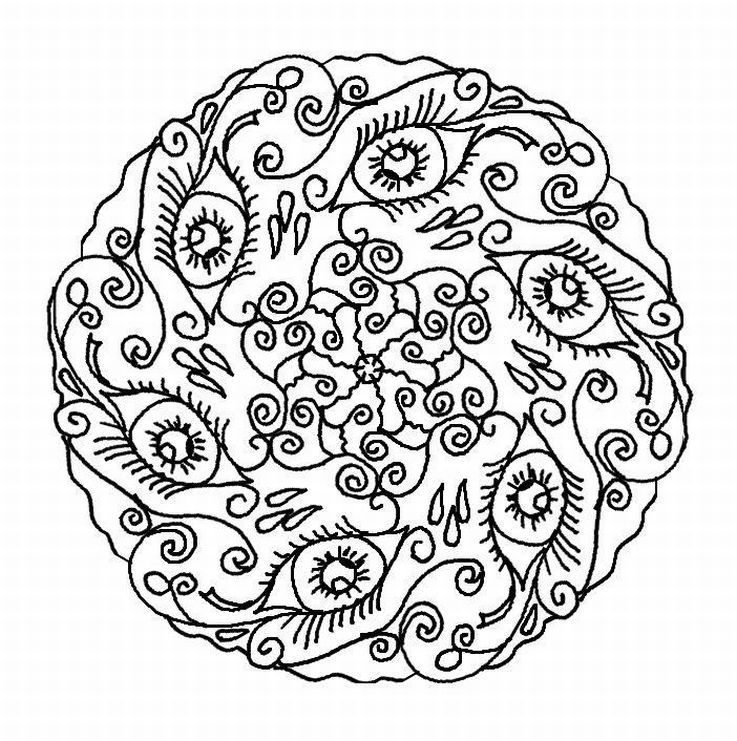 Free mandala coloring pages for adults coloring home for Mandala coloring pages printable free