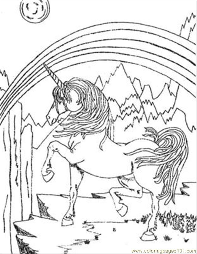 Colouring In Sheets Unicorn : Unicorn color page coloring home