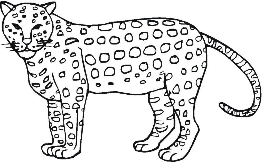 coloring pages jaguars - photo#7
