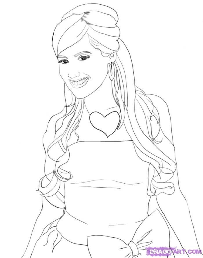High-school-musical-coloring-12 | Free Coloring Page Site