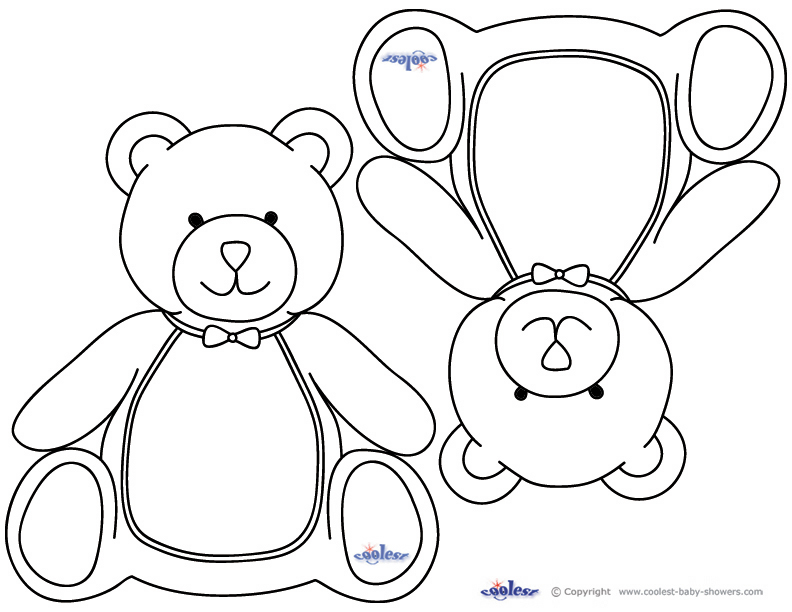 baby shower themed coloring pages - photo#5