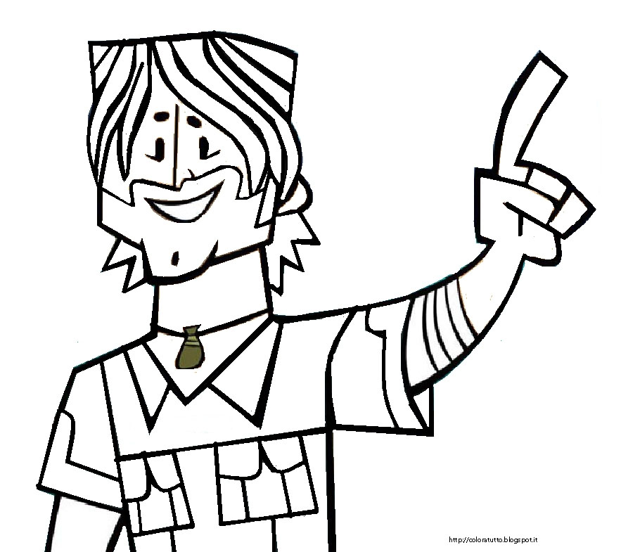 Total Drama Coloring Pages Az Coloring Pages Total Drama Island Coloring Pages