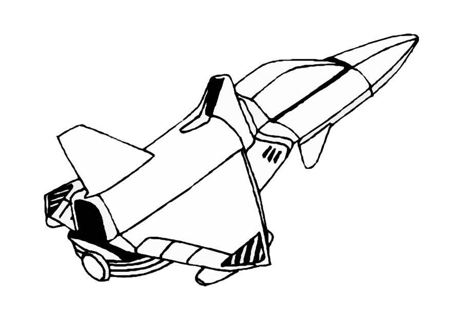 Space Coloring Pages Pdf : Coloring page space shuttle img az pages