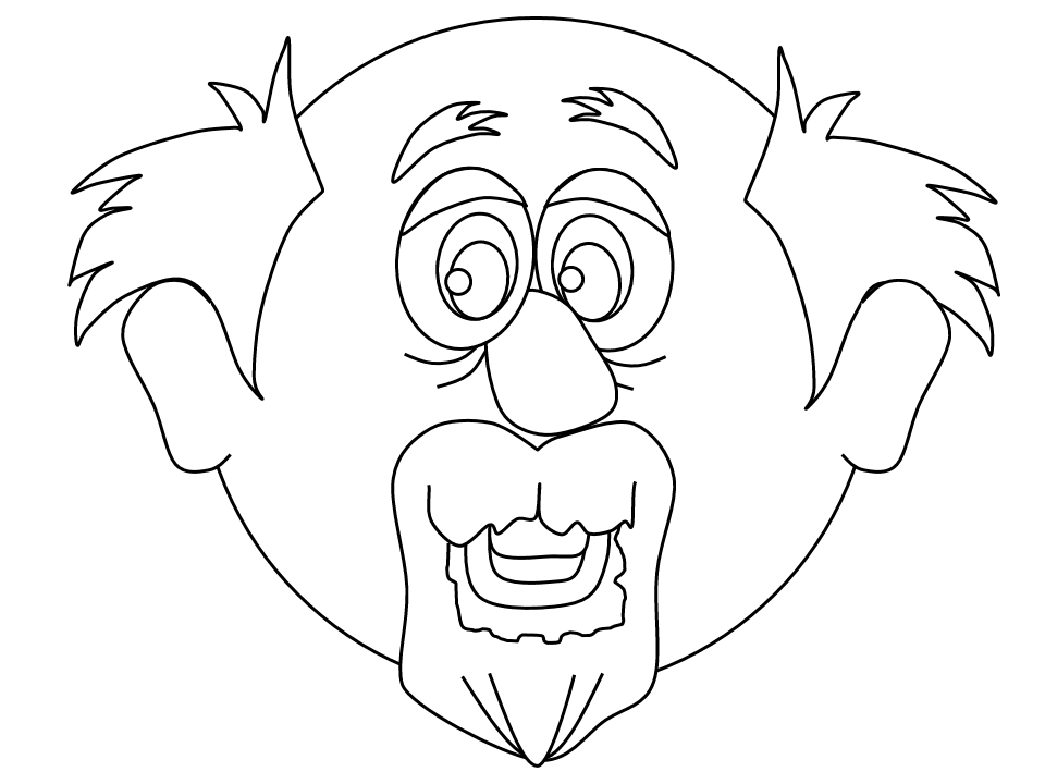 funny grandpa coloring pages - photo#31