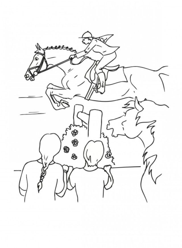 Schleich Horse Coloring Pages Bob Goff Coloring Mewarnai Site