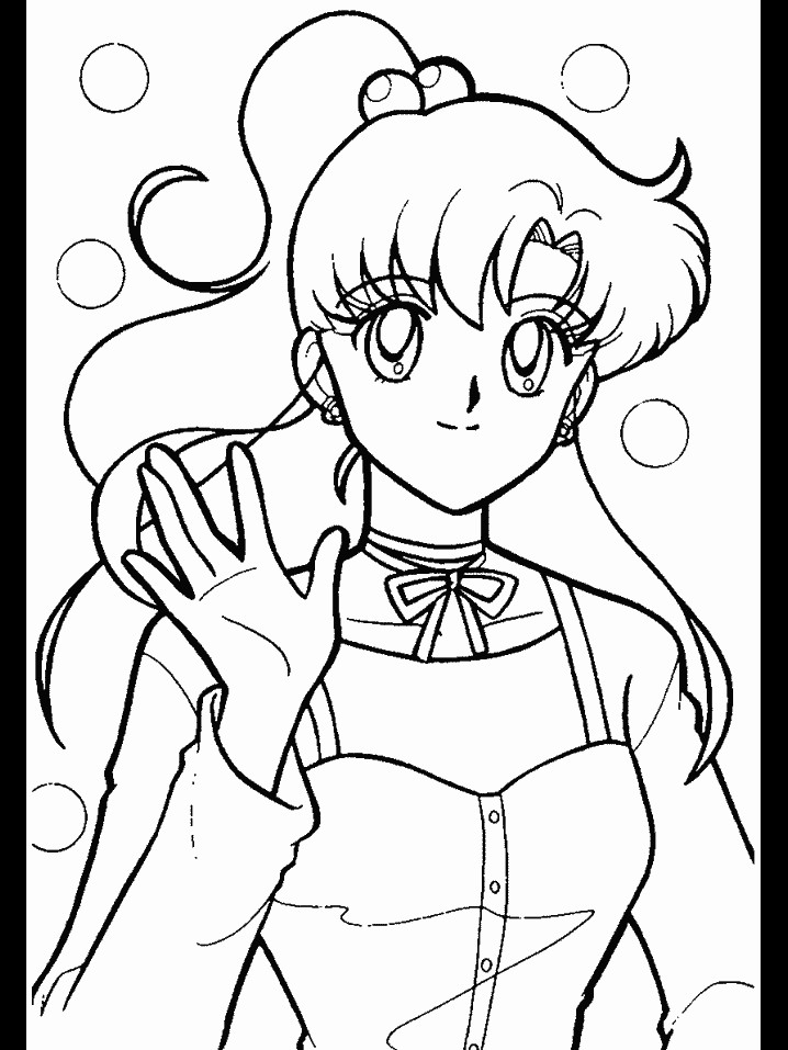 Sailor jupiter coloring pages az coloring pages for Sailor coloring pages
