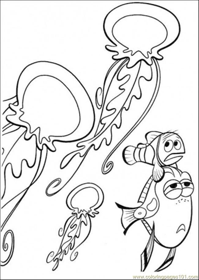 Dory Finding Nemo Coloring Pages