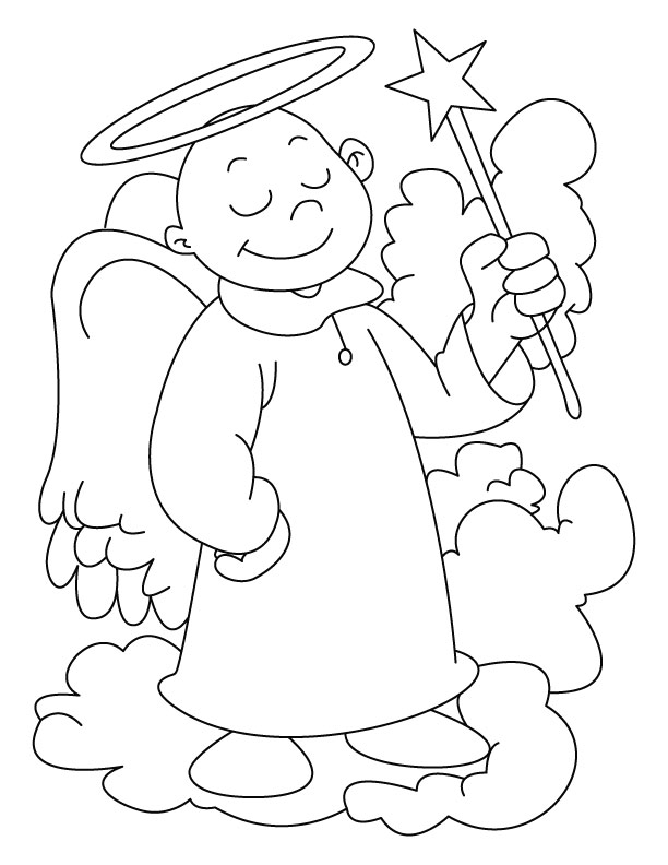 angels coloring pages az coloring pages