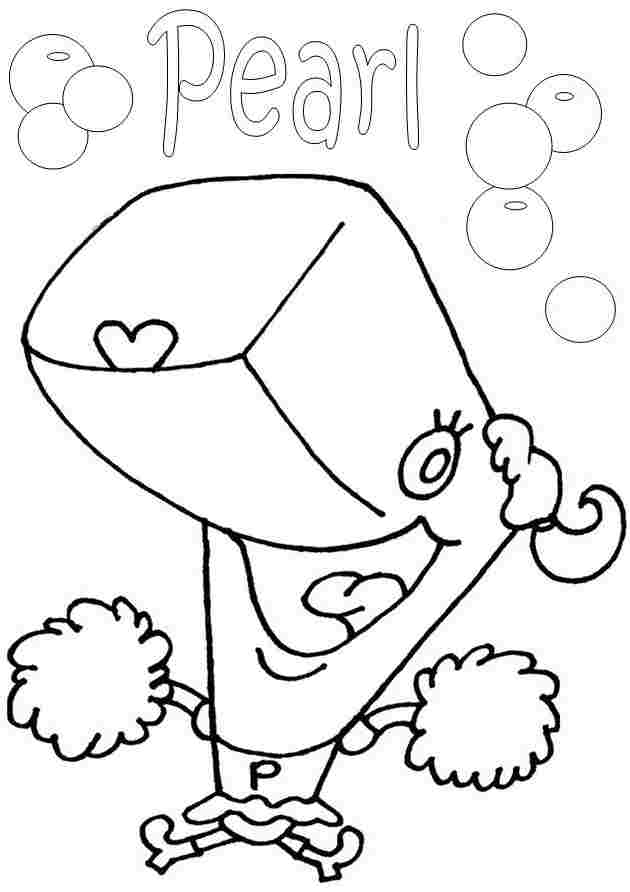 spongebob best friend coloring pages - photo#30