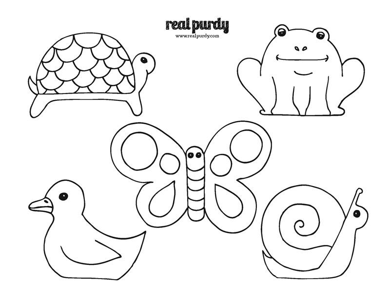 animal templates cut out az coloring pages
