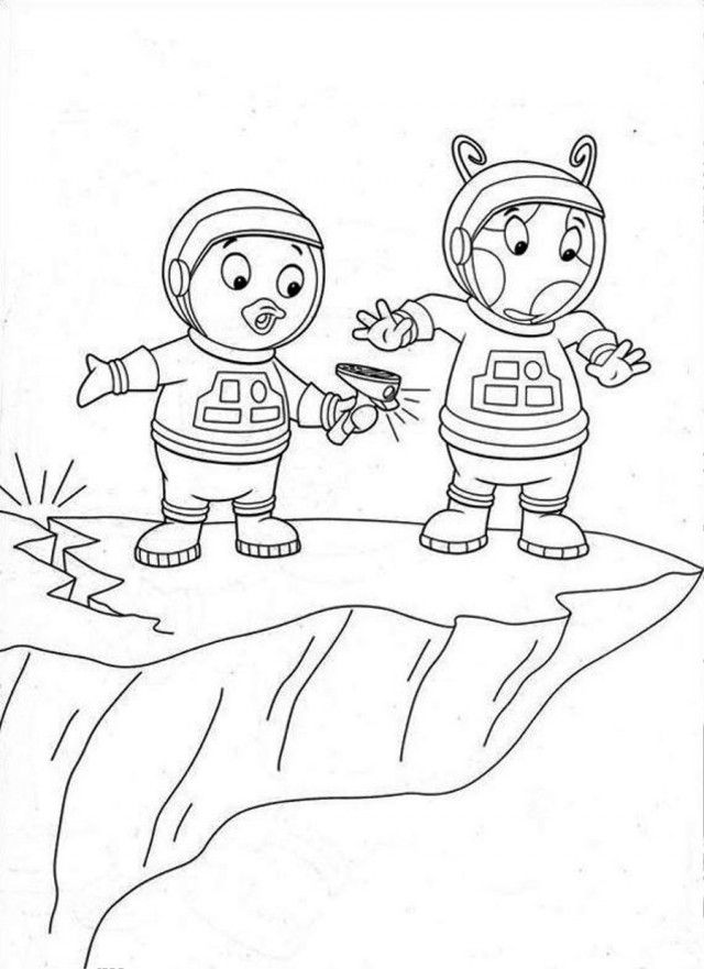 backyardigans printable coloring pages coloring home