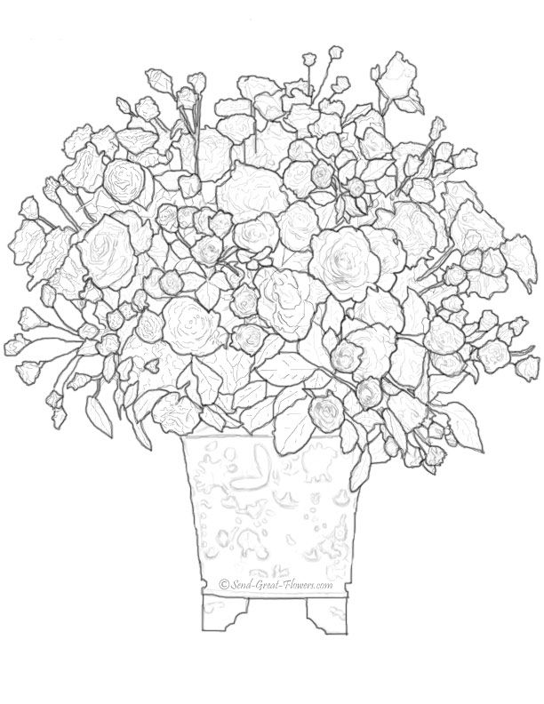 advanced coloring pages spring - photo#10