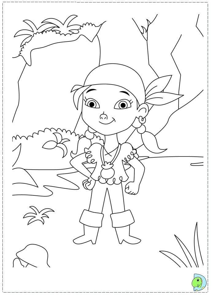 Jake And The Neverland Pirates Drawing Az Coloring Pages Jake The Neverland Coloring Pages