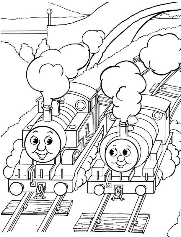 Thomas The Tank Engine Color Pages Az Coloring Pages Tank Engine Colouring Pages