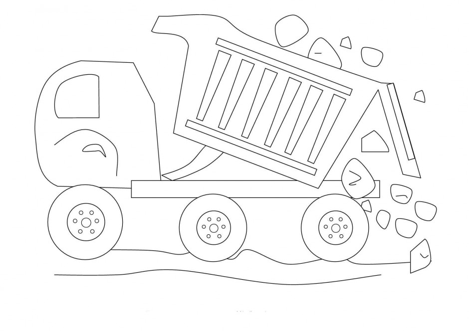 construction sign coloring pages - photo#32
