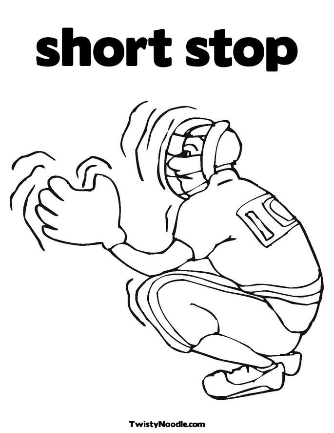 stop sign coloring pages - photo#35