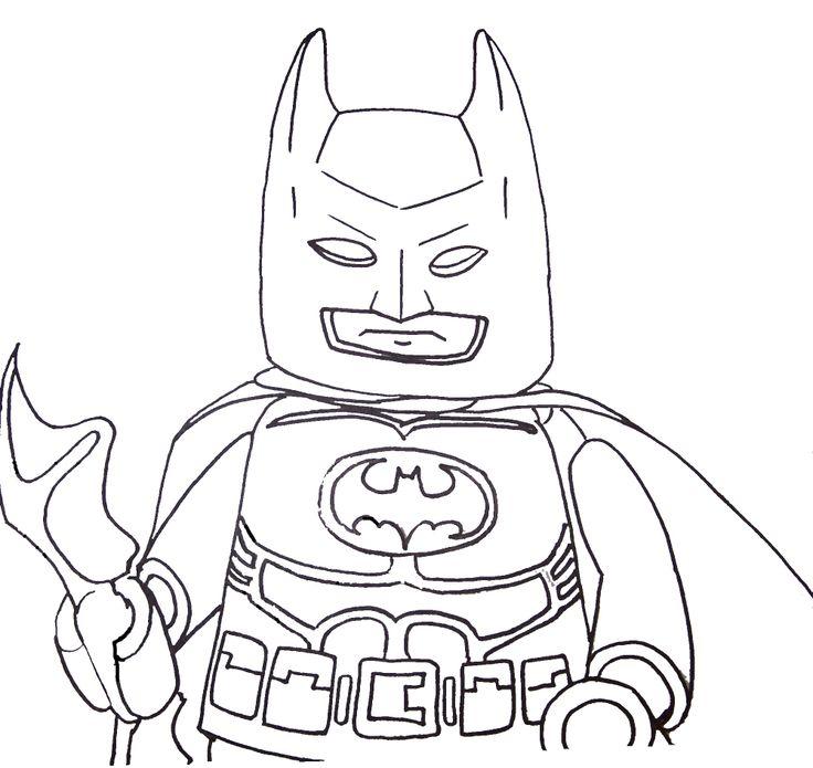 Batman Lego Coloring Pages Home