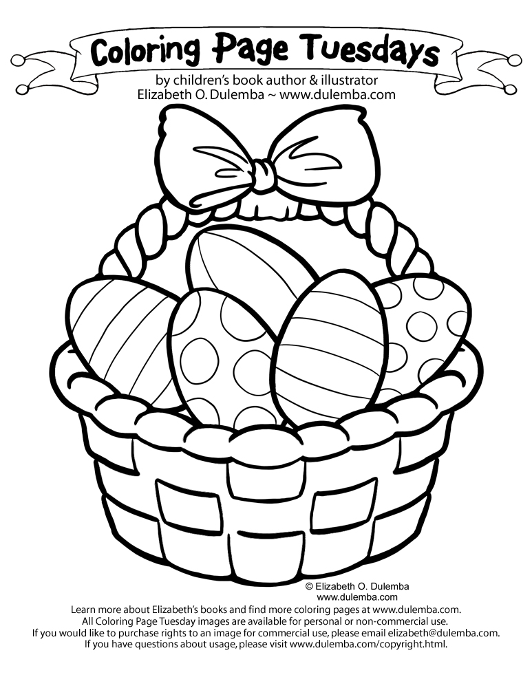 Picnic Basket Coloring Page Dulemba Coloring Page Tuesday