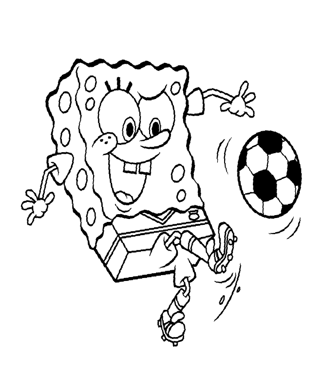 spongebob halloween coloring pages printable - photo#14