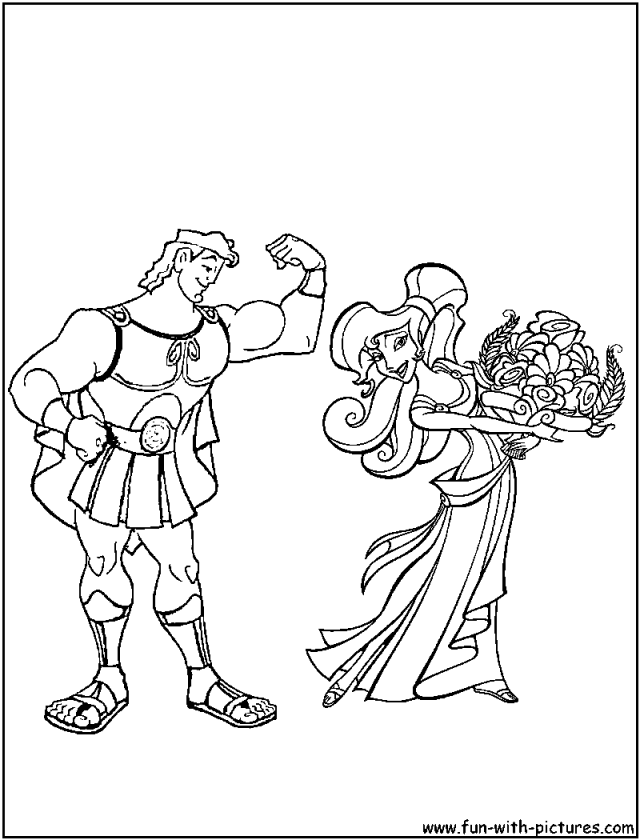 Disney Hercules Coloring Pages 22 Disney Coloring Pages 184670 ...
