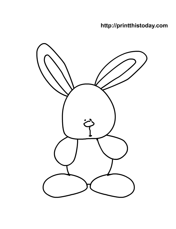 Free Printable Easter Coloring Pages for kids | Print This Today