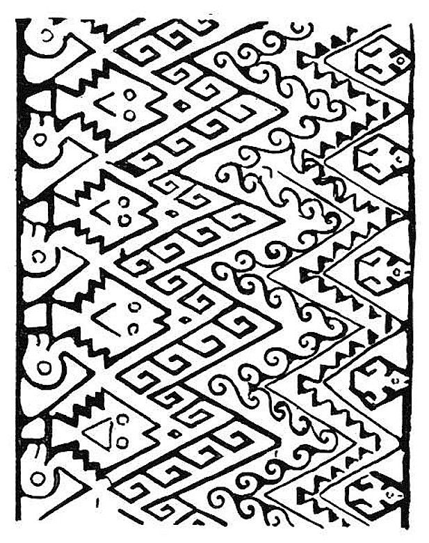 indian symbols coloring pages - photo#12