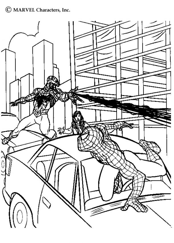spiderman vs venom coloring pages to print   Spiderman Vs Venom Coloring Pages - Coloring Home