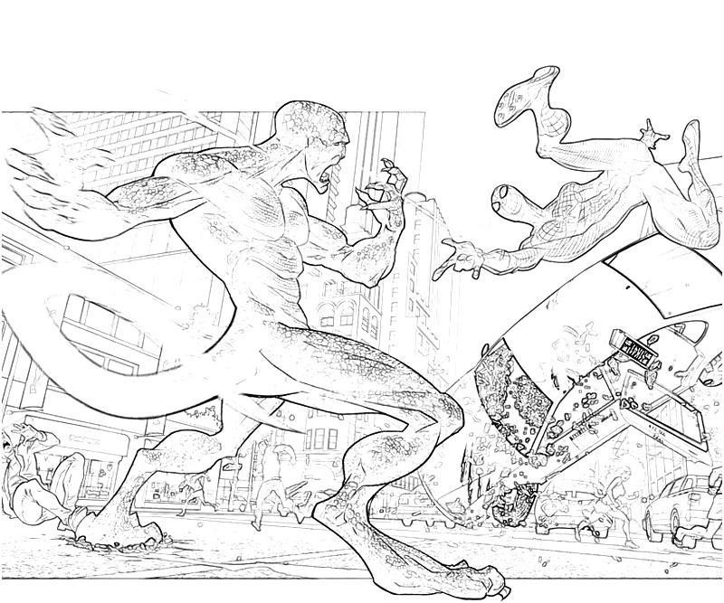 The amazing spider man coloring pages coloring home for The amazing spider man 2 coloring pages