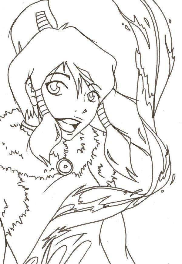 Legend Of Korra Coloring Pages Free To Print - Coloring Home