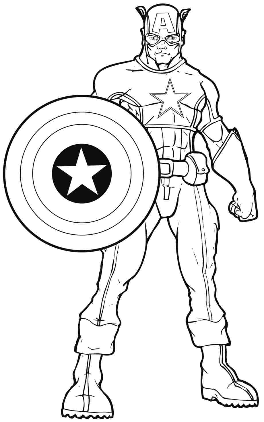 Coloring Pages Of Superheroes Printables - Coloring Home
