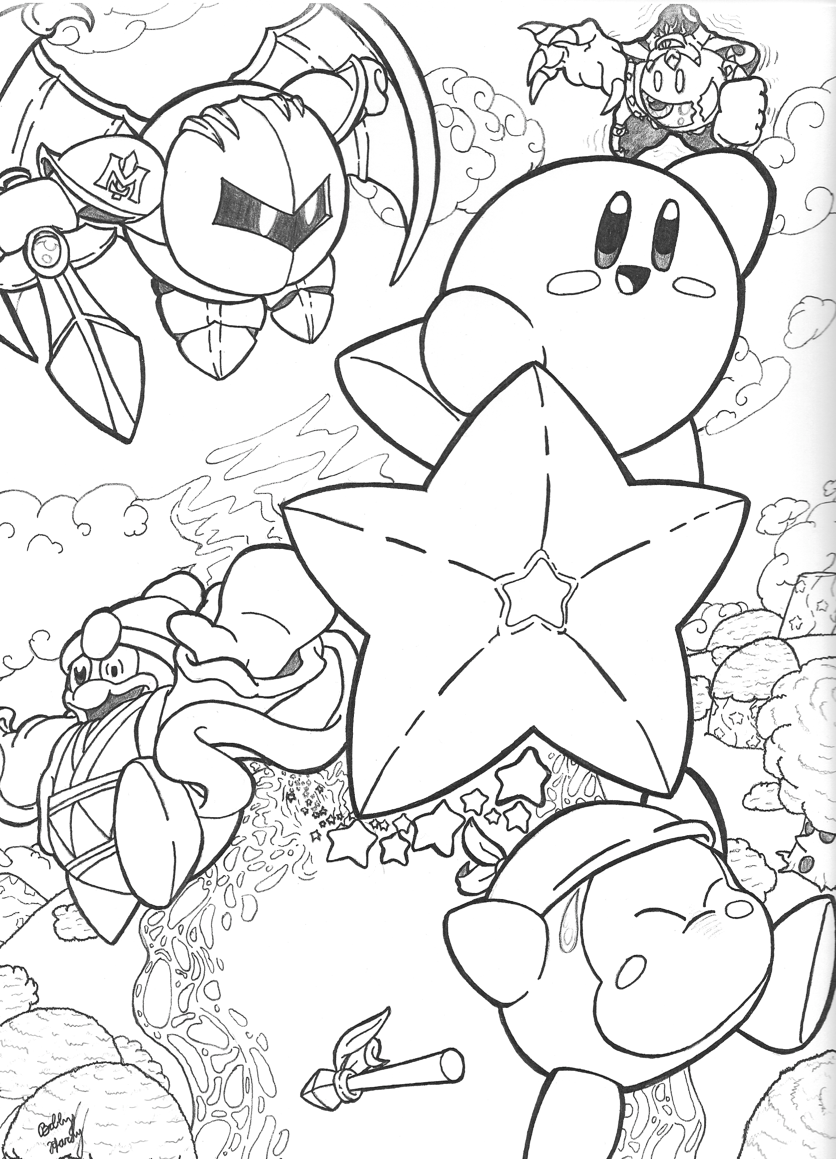 poko coloring pages - photo#32