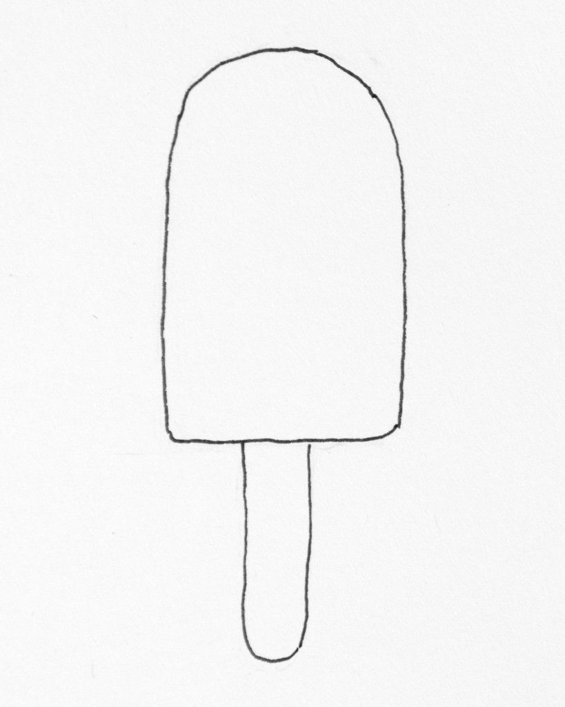 Ice Cream And Popsicle Printable Coloring Pages Coloring Popsicle Coloring Page