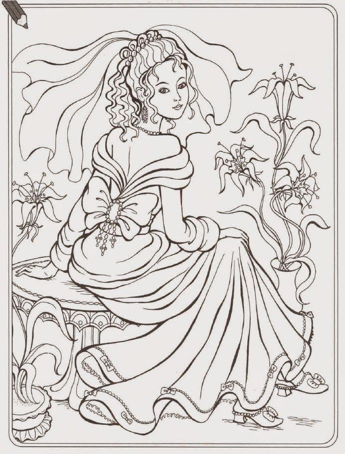 princess pauper coloring pages - photo#23