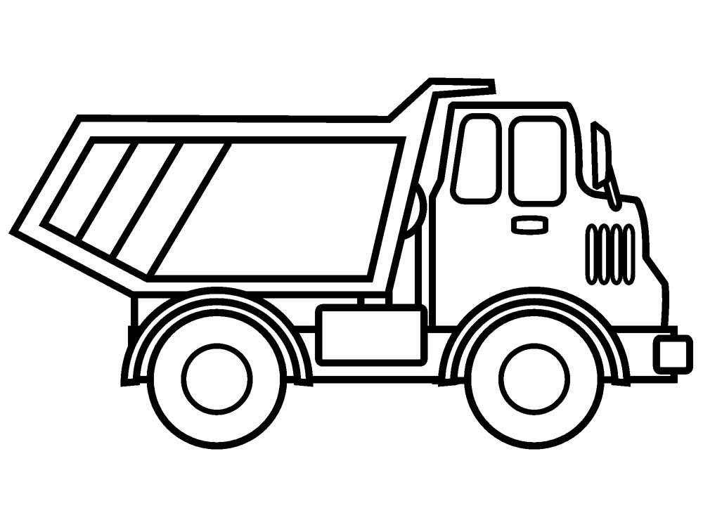 Dump Truck Coloring Pages - Bestofcoloring.com - Coloring Home