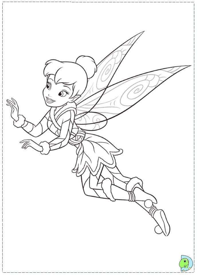Top 25 Free Printable Tinkerbell Coloring Pages Online   960x691
